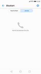 Huawei P10 - Android Oreo - Anrufe - Anrufe blockieren - Schritt 5