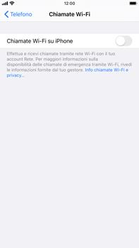 Apple iPhone 6s Plus - iOS 13 - WiFi - Attivare WiFi Calling - Fase 6