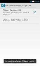 Bouygues Telecom Ultym 4 - Sécuriser votre mobile - Personnaliser le code PIN de votre carte SIM - Étape 10