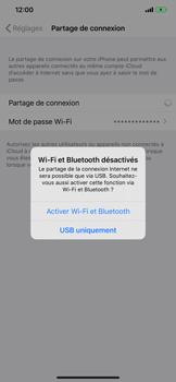 Apple iPhone 11 - Internet et connexion - Utiliser le mode modem par USB - Étape 7