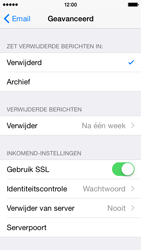 Apple iPhone 5s iOS 8 - E-mail - Account instellen (POP3 zonder SMTP-verificatie) - Stap 22