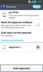 LG P710 Optimus L7 II - Bluetooth - Koppelen met ander apparaat - Stap 9