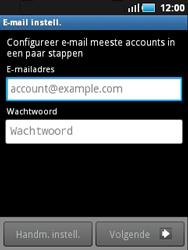 Samsung S5570 Galaxy Mini - E-mail - e-mail instellen: POP3 - Stap 5