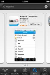 Apple iPhone 3GS - Applicazioni - Installazione delle applicazioni - Fase 7