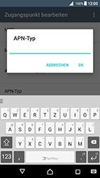 Sony Xperia X - MMS - Manuelle Konfiguration - 1 / 1