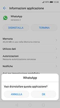 Huawei P10 Plus - Applicazioni - Come disinstallare un