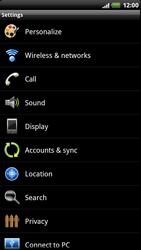HTC Z715e Sensation XE - MMS - Manual configuration - Step 4