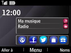 Nokia Asha 210 - E-mail - Configuration manuelle - Étape 1