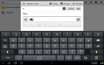 Samsung P5100 Galaxy Tab 2 10-1 - E-mail - envoyer un e-mail - Étape 4