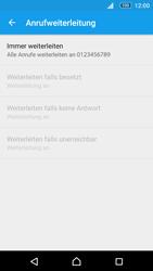 Sony Xperia M5 - Anrufe - Rufumleitungen setzen und löschen - 8 / 9