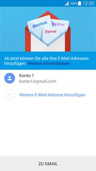 Samsung Galaxy Note 4 - E-Mail - Konto einrichten (gmail) - 1 / 1