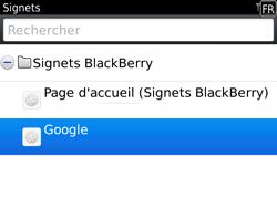 BlackBerry 9780 Bold - Internet - Navigation sur Internet - Étape 8