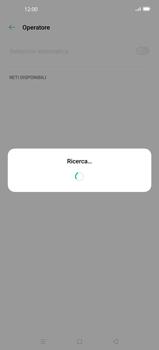 Oppo Find X2 Pro - Rete - Selezione manuale della rete - Fase 10
