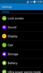 Samsung G357 Galaxy Ace 4 - Voicemail - Manual configuration - Step 4