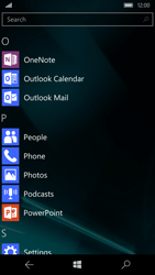 Microsoft Lumia 950 - E-mail - Manual configuration (outlook) - Step 3