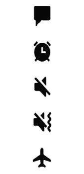 Samsung Galaxy A8 - Premiers pas - Comprendre les icônes affichés - Étape 21