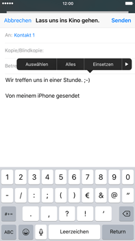 Apple iPhone 6s Plus - E-Mail - E-Mail versenden - 9 / 16