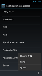 Alcatel One Touch Idol - MMS - Configurazione manuale - Fase 15