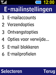 Samsung Xcover 550 (B550H) - E-mail - Account instellen (IMAP met SMTP-verificatie) - Stap 17
