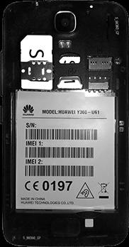 Huawei Y3 - SIM-Karte - Einlegen - 6 / 11