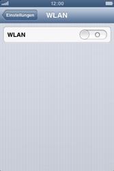 Apple iPhone 3GS - WiFi - WiFi-Konfiguration - Schritt 4