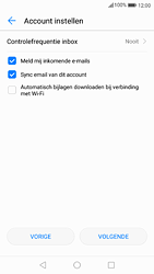 Huawei P9 - Android Nougat - E-mail - handmatig instellen (outlook) - Stap 9