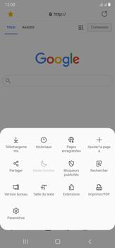 Samsung Galaxy Note20 Ultra 5G - Internet et connexion - Naviguer sur internet - Étape 21