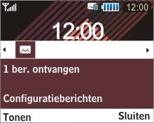 Samsung B3210 Corby TXT - internet - automatisch instellen - stap 3
