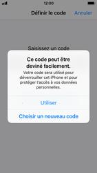 Apple iPhone 5s - iOS 11 - Sécuriser votre mobile - Activer le code de verrouillage - Étape 6