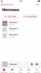Apple iPhone 7 iOS 11 - Photos, vidéos, musique - Ecouter de la musique - Étape 5