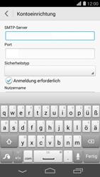 Huawei Ascend P7 - E-Mail - Konto einrichten - Schritt 14
