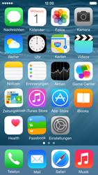 Apple iPhone 5C iOS 8 - Startanleitung - personalisieren der Startseite - Schritt 3