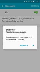 Samsung A510F Galaxy A5 (2016) - Bluetooth - Geräte koppeln - Schritt 9