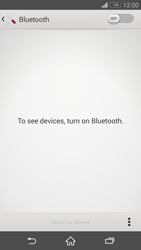 Sony Xperia Z3 Compact - Bluetooth - Connecting devices - Step 5
