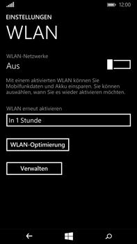 Microsoft Lumia 640 XL - WLAN - Manuelle Konfiguration - 1 / 1
