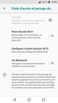 Crosscall Trekker X4 - Internet et connexion - Partager votre connexion en Wi-Fi - Étape 9