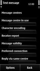 Nokia 500 - SMS - Manual configuration - Step 9