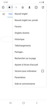 Samsung Galaxy S20 5G - Internet et roaming de données - Navigation sur Internet - Étape 10
