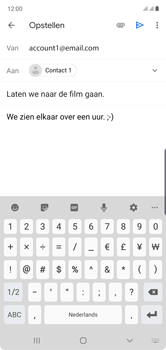 Samsung Galaxy Note10 - E-mail - e-mail versturen - Stap 9