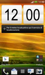HTC Desire X - Rete - Selezione manuale della rete - Fase 1