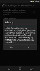 Sony Xperia Z - Internet - Manuelle Konfiguration - Schritt 7