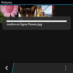 BlackBerry Q10 - Photos, vidéos, musique - Envoyer une photo via Bluetooth - Étape 12