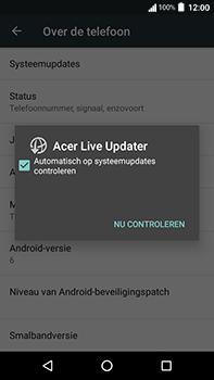 Acer Liquid Zest 4G Plus - Toestel - Software update - Stap 7