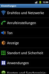 Samsung Galaxy Xcover - Netzwerk - Netzwerkeinstellungen ändern - 0 / 0