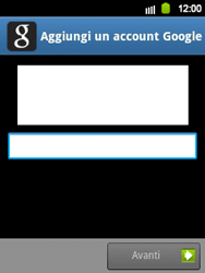 Samsung Galaxy Y - Applicazioni - Configurazione del negozio applicazioni - Fase 13