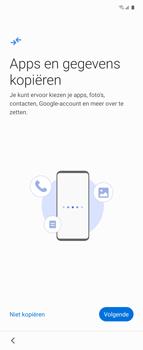 Samsung Galaxy Z Flip Single-SIM + eSIM (SM-F700F) - Instellingen aanpassen - Nieuw toestel instellen - Stap 11