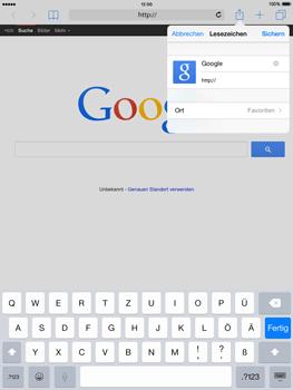 Apple iPad mini - iOS 8 - Internet und Datenroaming - Verwenden des Internets - Schritt 7