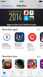 Apple iPhone 5 iOS 7 - Applications - Comment vérifier les mises à jour des applications - Étape 3