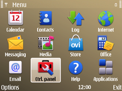 Nokia E72 - Internet - Manual configuration - Step 3