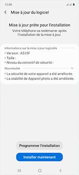 Samsung Galaxy A51 - Logiciels - Installation de mises à jour - Étape 7
